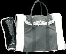自社オリジナル製品の開発に着手、第一号はギアバッグ