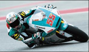 ロードレース世界選手権Moto2 ハフィス・シャーリン選手と契約