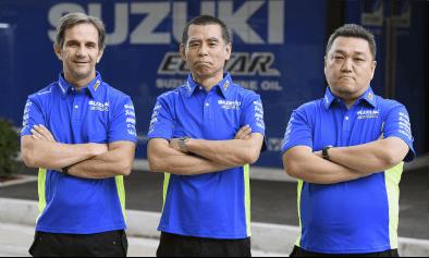 TEAM SUZUKI ECSTAR(MOTO GP)にチームウェアを供給
