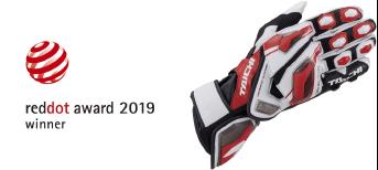 NXT055 GP-EVO.RレーシンググローブがRed Dot Awardの製品デザイン部門で受賞しました